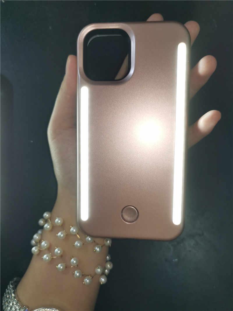 SOKELY Selfie LED Light สำหรับ iPhone 11 PRO MAX XR X XsMax LED แฟลชสำหรับ iPhone 11 8 7 6 6S ปกหลัง