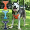 Поводок для собак жилеты, жилет для домашних животных Малый средних и больших размеров, для домашних животных, не тянуть Регулируемый свето...