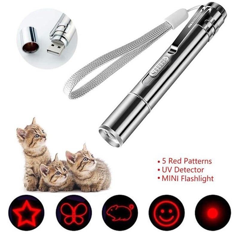 Новый Забавный Кот светильник с забавным котом Chaser игрушки Вспышка светильник лазерный светодиодный Ручка светильник кошка светильник ука...