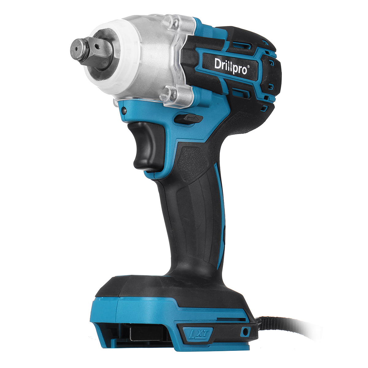 Drillpro Cordles Brushless Electric Impact Wrench 1 2 inch Power Tool With LED Light for Makita 18V Battery  Tool Only