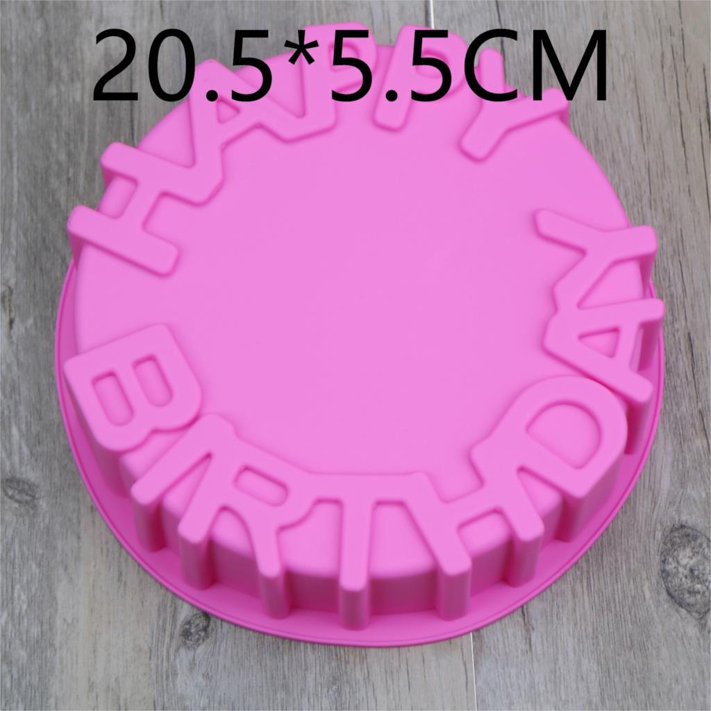 3D Silicone Cake Mold Hapy Birthday