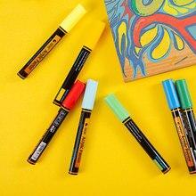 STA 36Colors 2mm Acrylic Paint Marker Pen for Ceramic Rock Glass Porcelain Detailed Marking Color Paint Pens Art Marker
