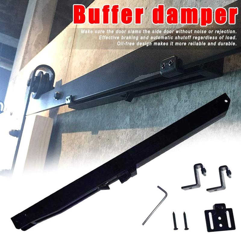 Soft Close Mechanism Buffer Damper Sliding Barn Door Hardware Durable Accessory DC120