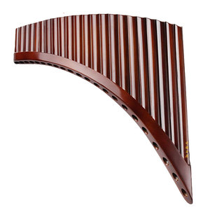 Image 1 - Professional musical instrument romania pan flute 25 pipes 22 pipes romanian base holder panflute C F G key