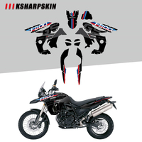 Body protection sticker motorcycle decoration reflective decal modified appearance film for BMW F800GS F800 gs 2008 2012