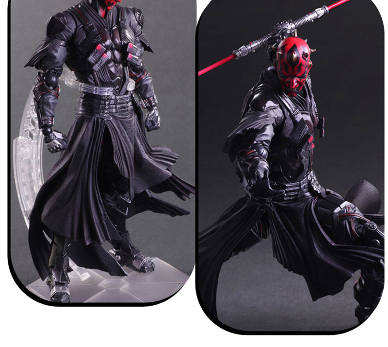 Star Wars: The Force Awakens Darth Maul 26cm Anime Figure Doll Collections Children Toys Gift 15