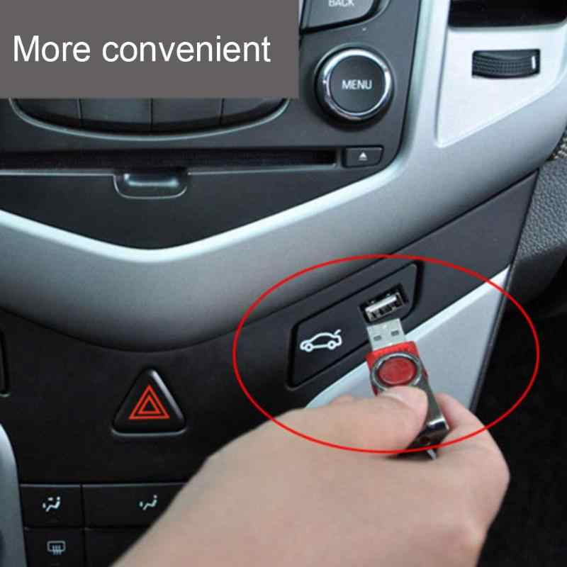 9v 16v Car Trunk Open Close Button Switch Assembly With Usb Port