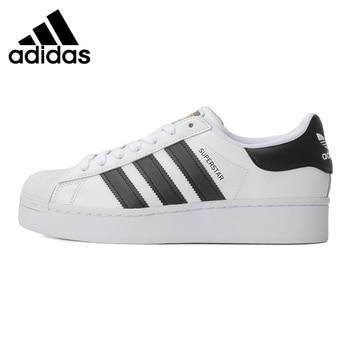 Original New Arrival Adidas Originals SUPERSTAR BOLD W Women's Skateboarding Shoes Sneakers