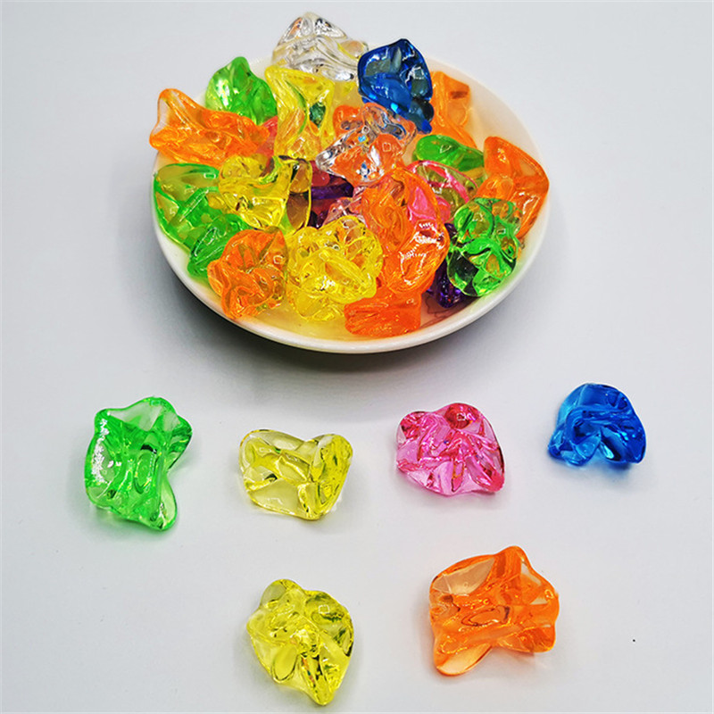 10 Pieces Colorful Acrylic Crystal Ice Shape Irregular Stone Chessman Game Pieces For Board Games Accessories