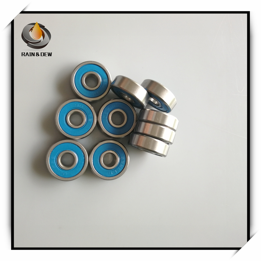 S625-2RS ABEC-7 Stainless Steel CERAMIC Hybrid Ball Bearing 2 PCS 5x16x5 mm