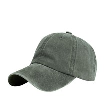 Ladies Hat Distressed Baseball-Cap Washed Retro Summer Solid Park Outdoor Popular Popular