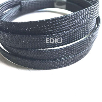 цены 5M 10M 3 4 6 8 10mm Cable Sleeve black Wire Protection PET Nylon Cable Sleeves wire cable Braided Cable Sleeve