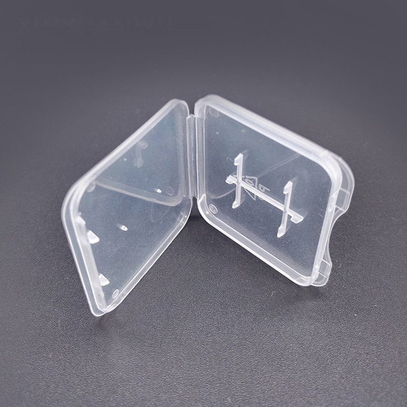 TD SD Memory Card Case Holder Protector Transparent Plastic Box Storage Holder Memory Card Cases