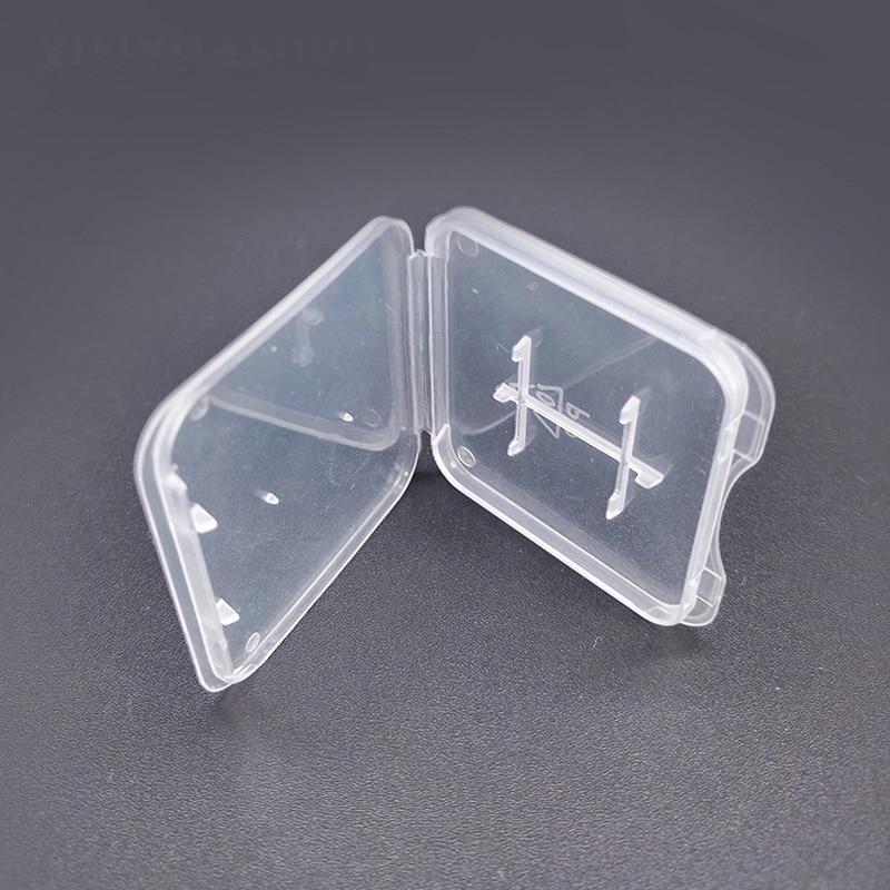 TD SD Memory Card Case Holder Protector Transparent Plastic Box Storage Holder Memory Card Cases