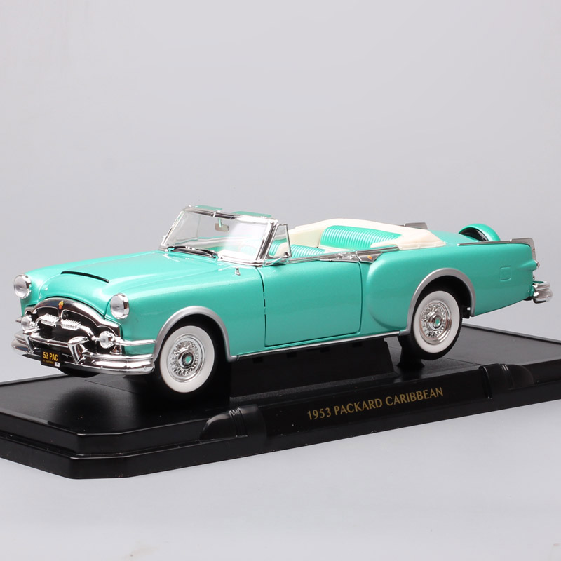 Large classic 1/18 scale Road Signature 1953 Packard caribbean luxury vintage car Diecasts & Toys Vehicles cars model thumbnails