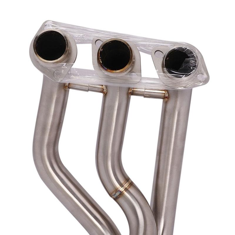 Штыревой разъем 51 мм передняя звеньевая труба из нержавеющей