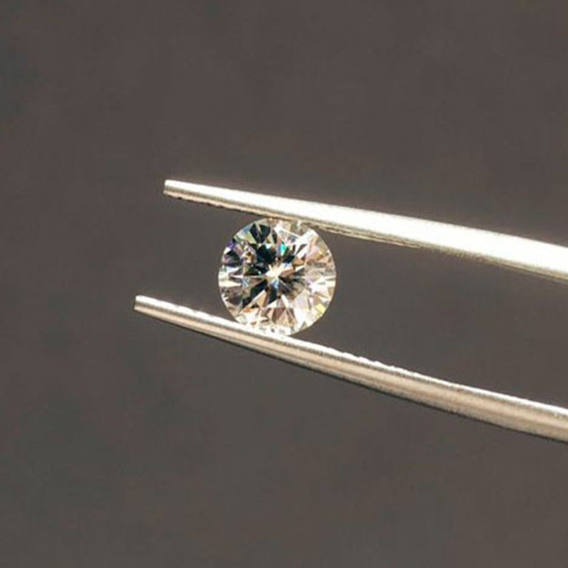 7mm 1.2ct Carat IJ Color Loose Moissanite Round Brilliant Cut Lab Diamond Loose Moissanite Jewelry DIY Making Material