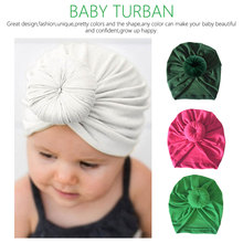 New Headband Baby Girls Crochet Top Knot Elastic Turban Hairband Girl Soft Head Wrap Ears Warmer Headwear