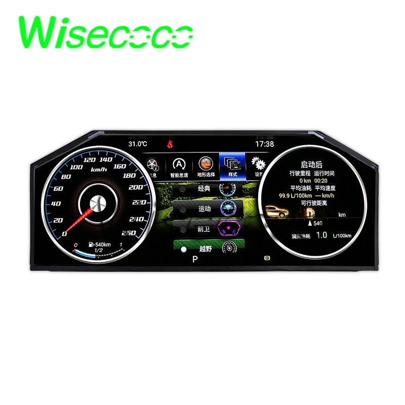 Wisecoco 12.3  Inch Dashboard Lcd Panels Instrument Display 1920x720 Original New LA123WF5-SL01 High Brightness 780nits
