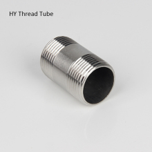 Thread Tube Stainless Steel SS304  spool Pipe tube 1/4 3/8 1/2 3/4 1 1-1/4 1-1/2
