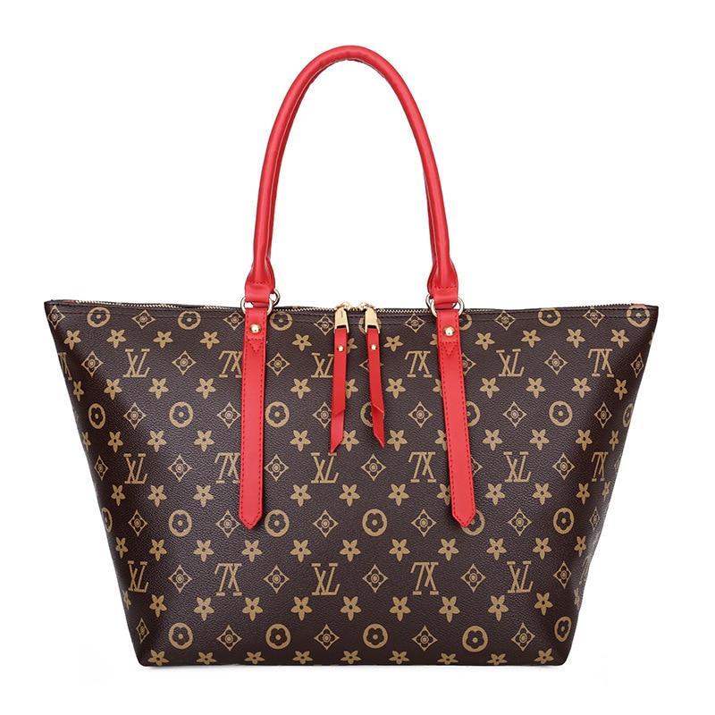 Ladies' Bag 2020 New Handbag European And American Luxury Women's Bag Fashion Todd Bag Large-capacity Shoulder Bag