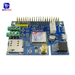 Diymore SIM800C GSM GPRS модуль четырехдиапазонная Плата развития с SMA антенной слот Micro SIM для Arduino Raspberry Pi