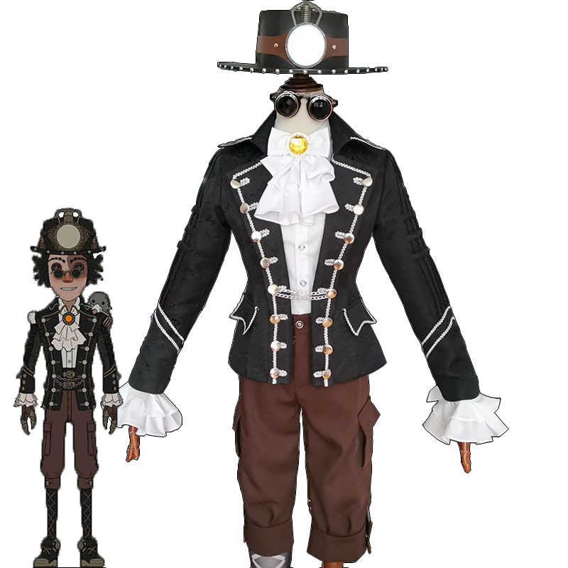 Game Identity V Cosplay Costume Prospector Norton Campbell Cosplay Costume Mr.Mole Skin Costumes Uniforms Full Set Suits Cosplay