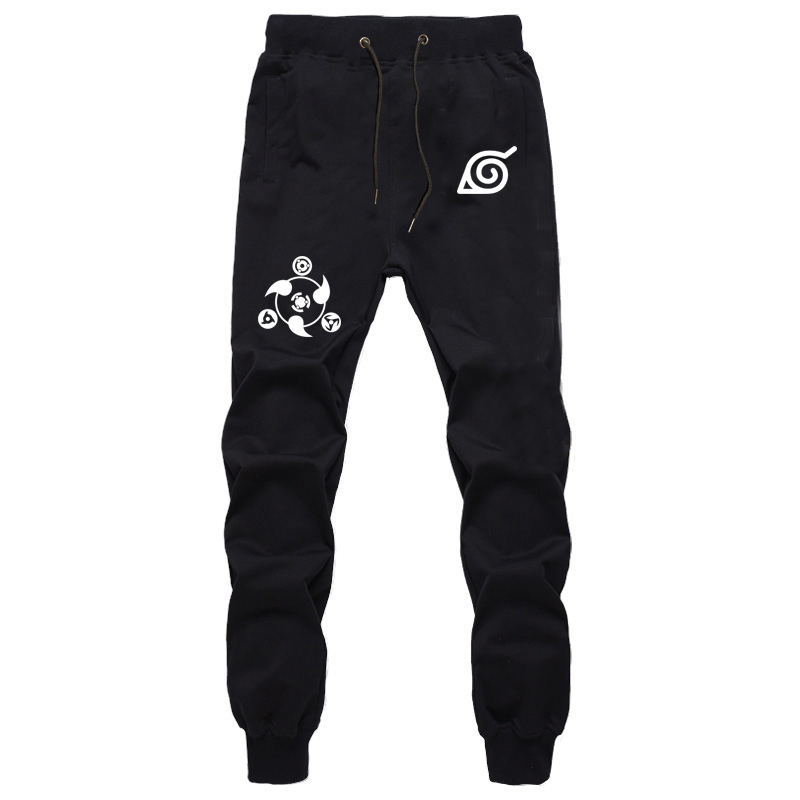 New Anime Naruto Konoha The Sharingan Print Pants Women Men's Pants Sweatpants Jogger Pants Summer Casual Pants