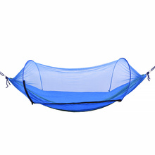 Hammock Outdoor Mosquito Net Parachute Swing Hammock Camping Hanging Chair 1-2 Person Sleeping Bed Portable Hammock Tent Garden недорого