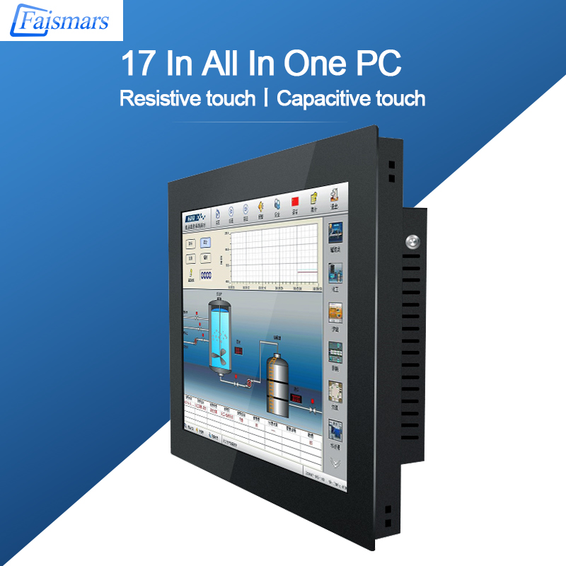 M170-AC02/ Faismars 17 Inch Intel Core I3-4025U Mini-ITX Industrial Motherboard Touch Screen Panel PC
