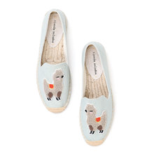 2020 echt Zapatillas Mujer Plattform Flache Fischer 2019 Sapatos Dame Casual Gummi Laufsohle Off duty Tage Flachs Stroh Dicke sohlen