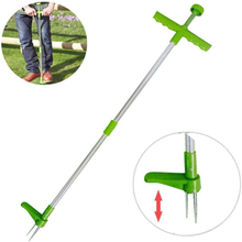 Weed Remover Stand-Up Weeder Root Removal Tool Aluminum Alloy Pole Weed Puller Hand Tool Weed Removers Dropshipping
