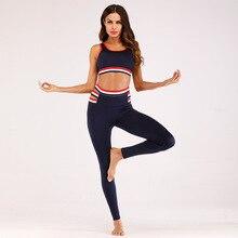 sports Sport Suit Women Yoga Set Sports Wear for Women Gym Workout Set Sports Clothing Padded Sports Bra High Waist Sports Legging Gym