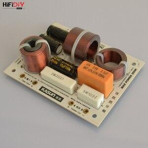 Image 4 - HIFIDIY L 480C en vivo de 3 vías, 4 altavoces, tweeter + mid + 2 * bass, HiFi, divisor de frecuencia de audio, filtros cruzados