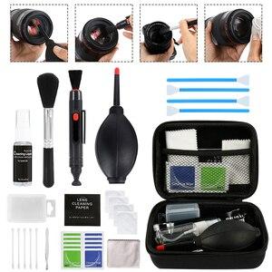 Professional DSLR Lens Camera Cleaning Kit Equipment Spray Bottle Lens Pen Brush Blower Practical Digital Camera Clean Tools(China)