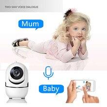 Ip-Camera Robot Tracking Wifi Surveillance Baby-Monitor Accompany Security Auto HD Children
