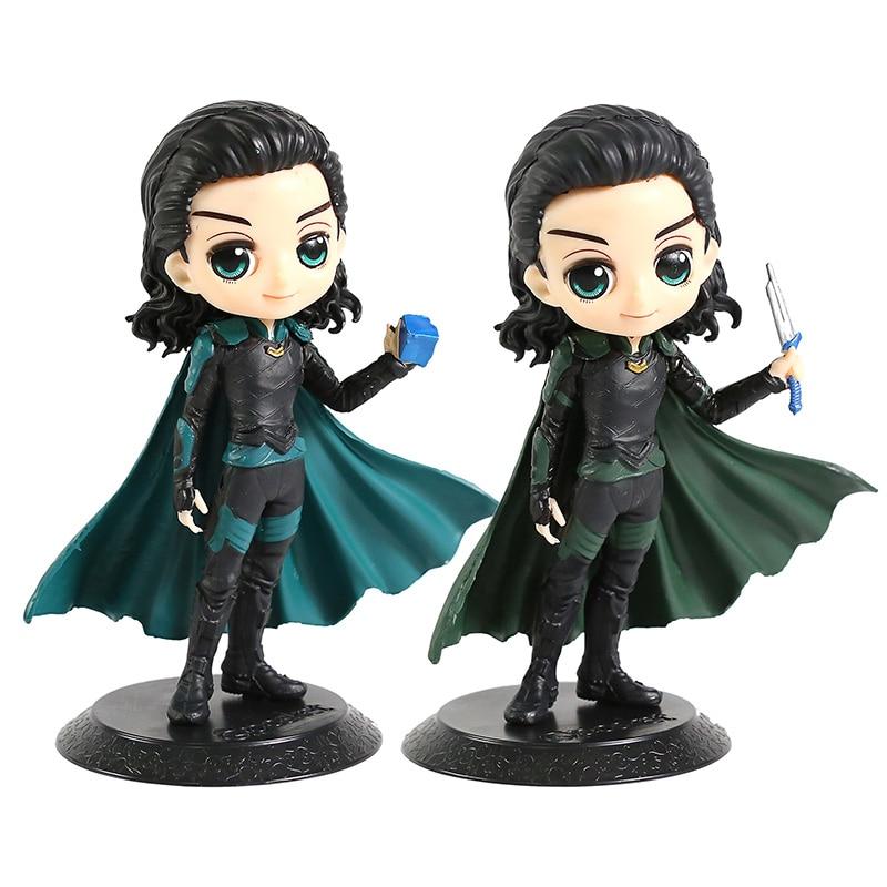 Q Posket Avengers Infinity War Loki PVC Figure Collectible Model Toy