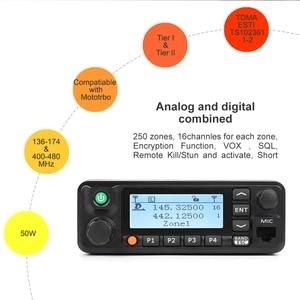 Image 2 - TYT MD 9600 ثنائي النطاق 136 174MHz و 400 480Mhz راديو المحمول الرقمي 50/45/25W جودة عالية راديو DMR + 1 كابل برجمة