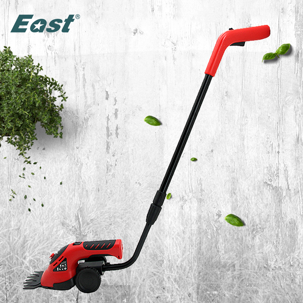 East 3 6V 3in1 Li-Ion Cordless Electric Hedge Trimmer Grass Brush Cutter Mini Lawn Mower Rechargeable Battery Garden Tool ET2704