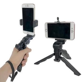 Desktop Live Mobile Phone Bracket Tripod Handheld Holder for GoPro Sports Action Camera for iPhone Samsung Smartphone Accessory 1