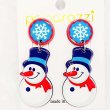 Brincos Brinco Earing The New Korean Version Christmas Snowman Earrings Ce416 Sold Directly By Manufacturers In 2019