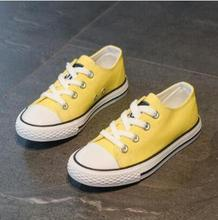 Kids Shoes for Girl Children Canvas Shoes Boys Sneakers New Spring Autumn Girls Shoes White Short Solid Fashion Children Shoes children s canvas shoes boys shoes girls sneakers 2017 new autumn shoes fashion girls casual shoes