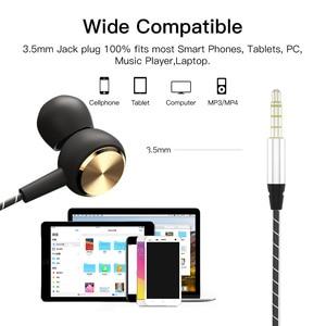 Image 5 - Azimiyo DJ2 Basgeluid Oortelefoon In Ear Sport Bedrade Koptelefoon Met Microfoon Voor Telefoon Xiaomi Huawei Iphone 6 Oordopjes hifi Oortelefoon