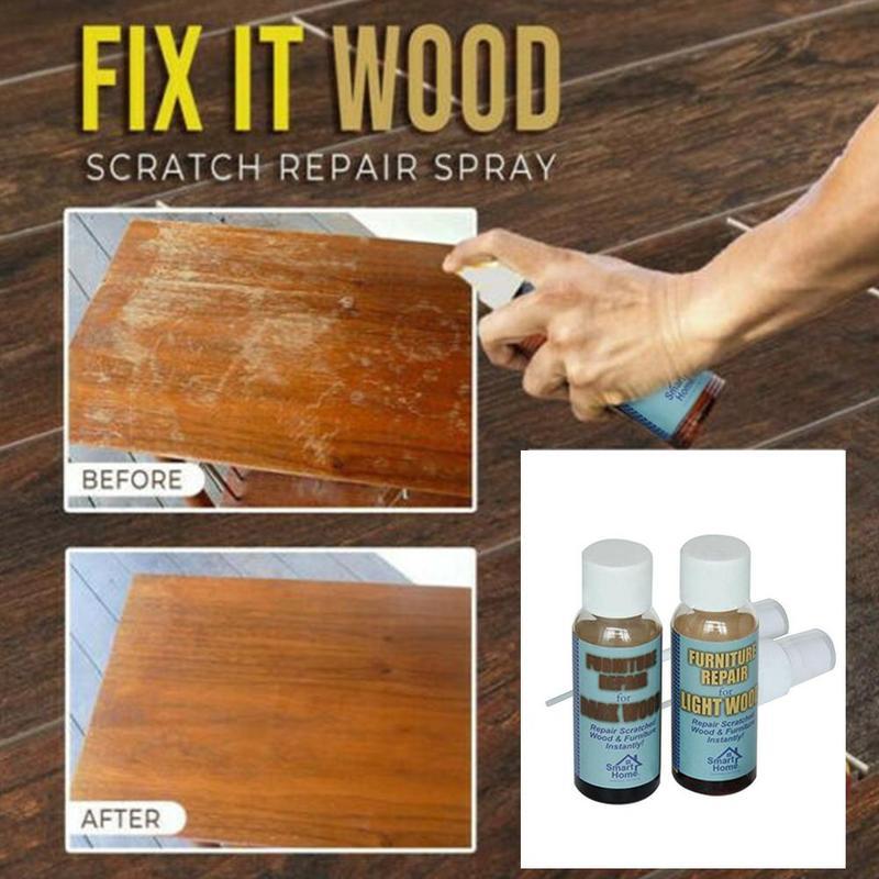 Suelo de madera pegamento de reparación de madera pintar muebles de rascar agente de reparación de artículos domésticos cuidado Resina Epoxi Transparente Reparación de madera