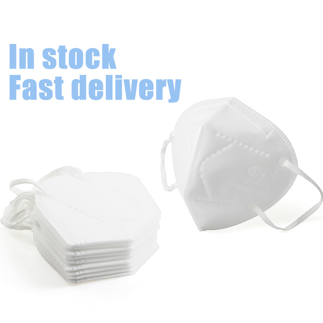 100PCS KN95 Safety Face Mask 5 ply Safety Mask Anti Dust Anti Pollution Flu Face Mask Unisex N95 Anti5 Anti-fog PM2.5 Mouth Mask 3