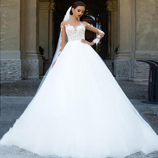 Long Sleeve Wedding Dress 4
