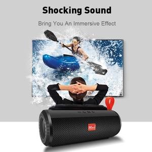 Image 3 - M&J Wireless Bluetooth portable Speaker Stereo Subwoofer column loudspeaker+TF Built in Mic Bass FM USB MP3 Sound Boom Box