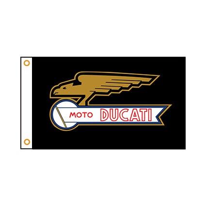 Флаг DUCATI 90x150 см для мотоцикла