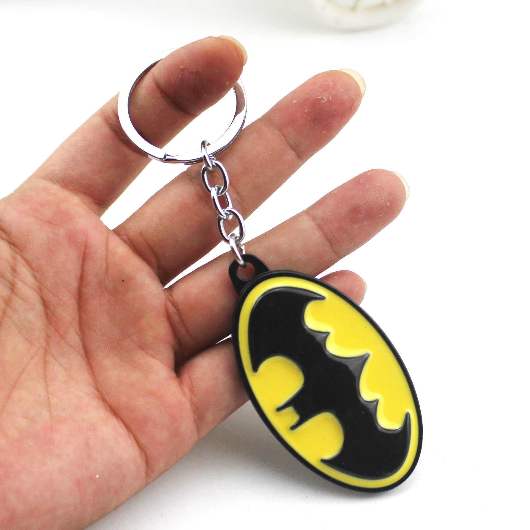 Nova 4 Vingadores Capitão América Marvel thanos Ferro Homem Aranha luva Batman thor Keychain Chaveiro chaveiro Jóias