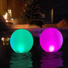 Swimming-Pool-Toys Beach-Ball LED 4-Modes Lawn Party-Decorations Garden Outdoor Luminous